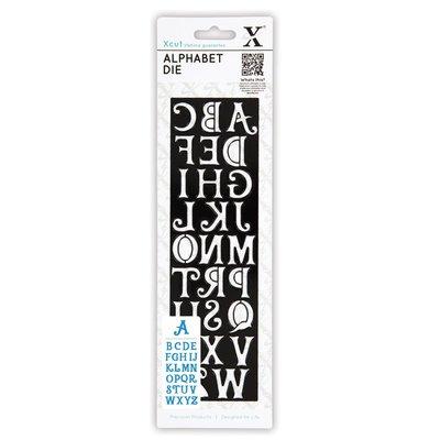 Fustella XCut - Alphabet Alice
