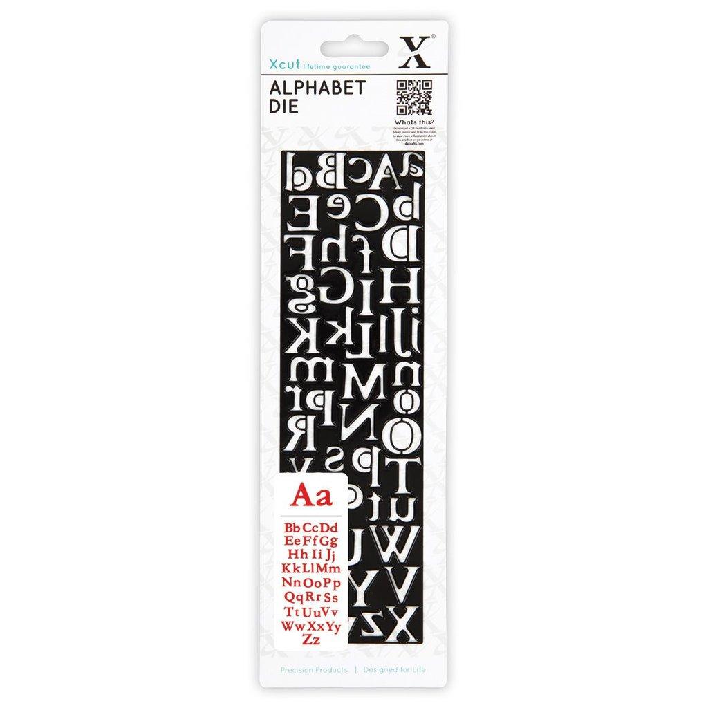 Fustella XCut - Alphabet Centurion