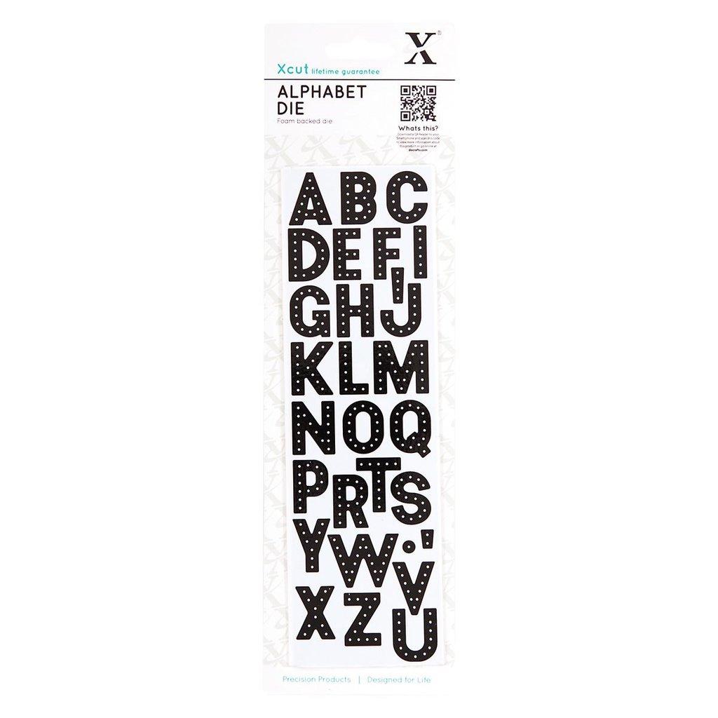 Fustella XCut - Alphabet Headliner