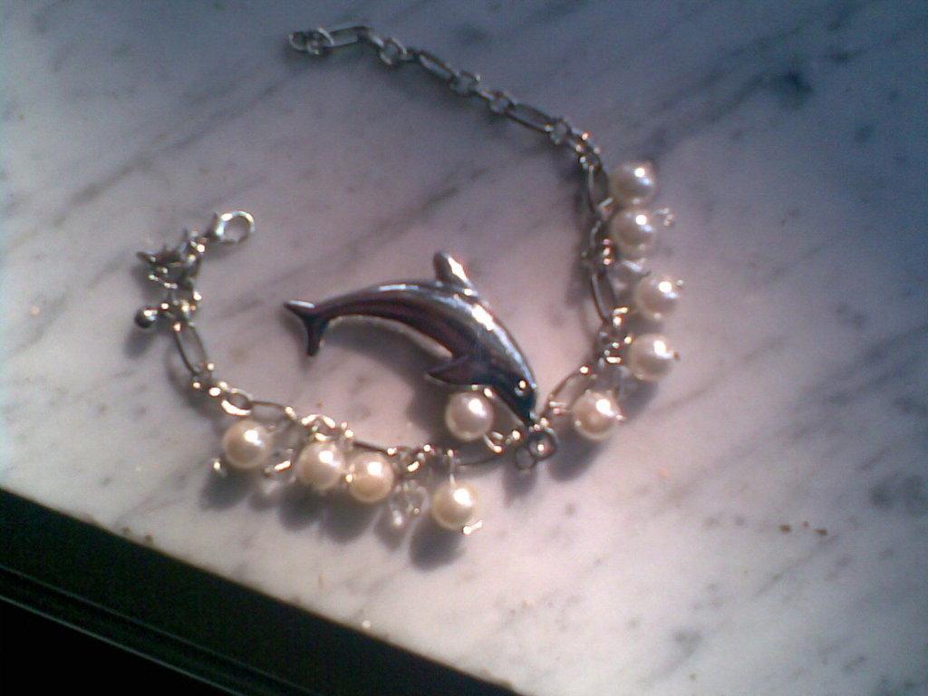 Bracciale DELFINO con perle