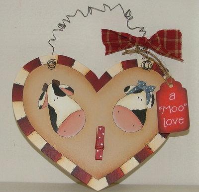 "Pattern ""Moo Love"""