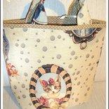 Borsa gatto e cane di stoffa handmade♥