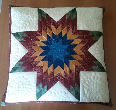 Cuscino star quilt