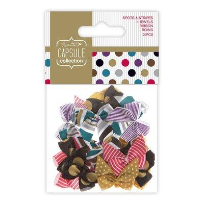 Mix 20 fiocchi - Spots & Stripes Jewels