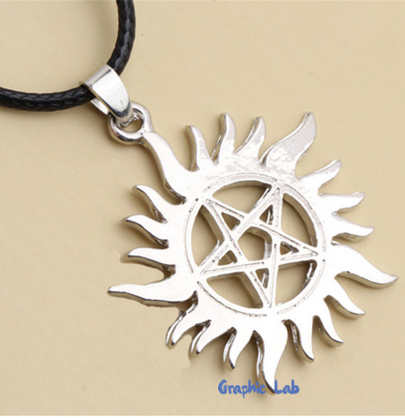 Collana Amuleto Tatoo Supernatural Dean e Sam Winchester