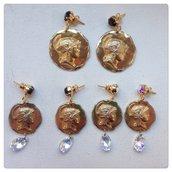 Orecchini pendenti con monete