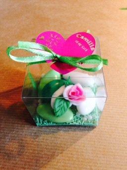 Bomboniera confetti decorati