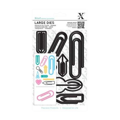 Set fustelle Xcut Large - Paper Clips