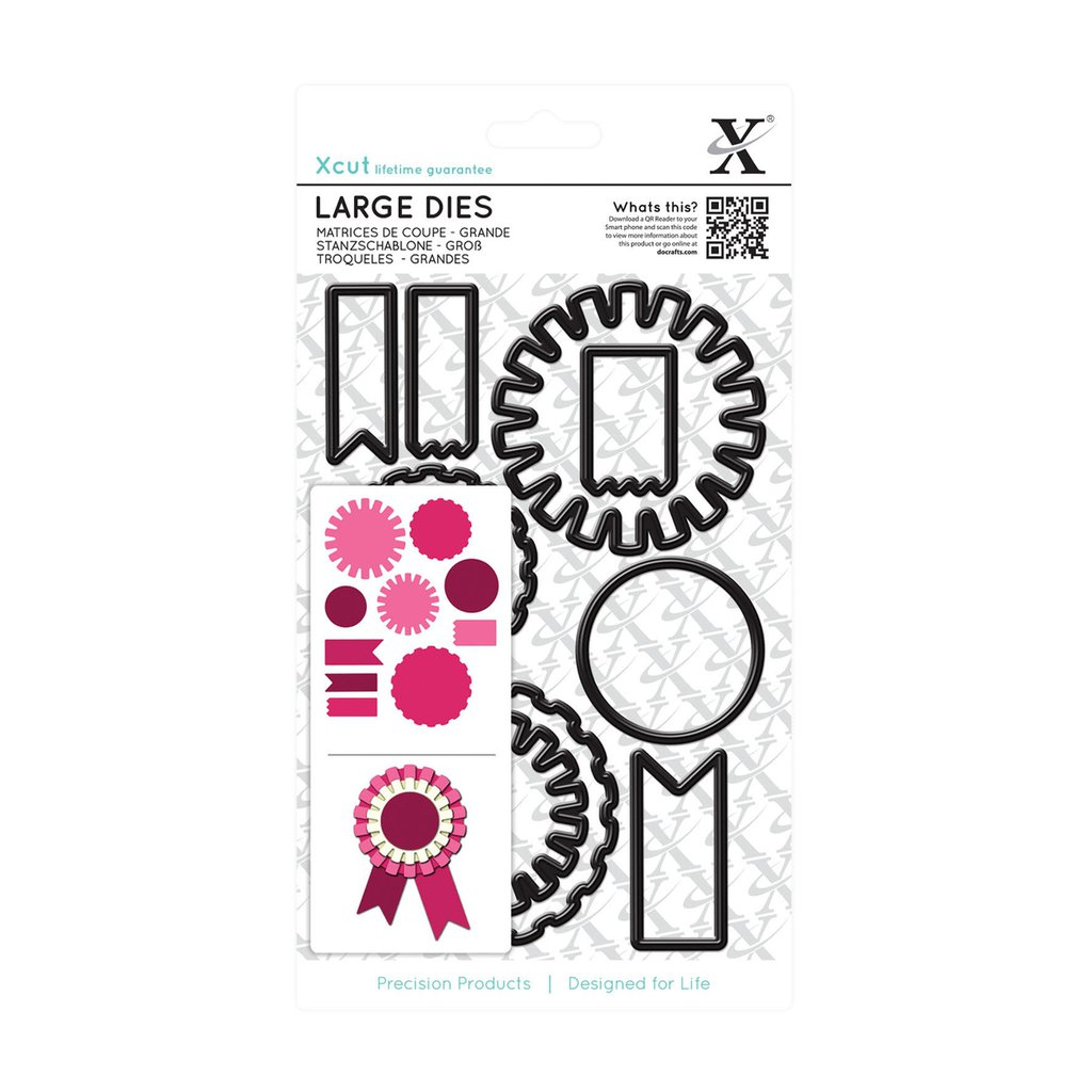 Set fustelle Xcut Large - Mixed Rosettes