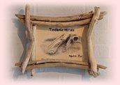 LE PRINCE portafoto con legni di mare