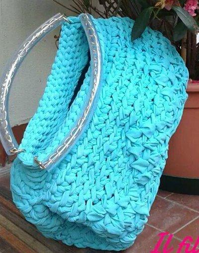 borse intreccio di fili