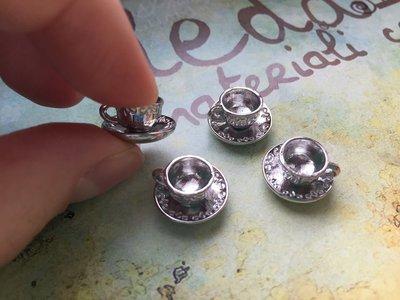 Charm tazzina argento