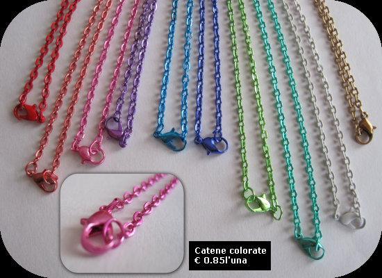 Catene colorate MODELLO 1