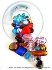 Kit di murrine in vetro per collane e bijoux (KIT 4)
