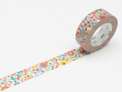 Washi Tape - Mini Flower Garden
