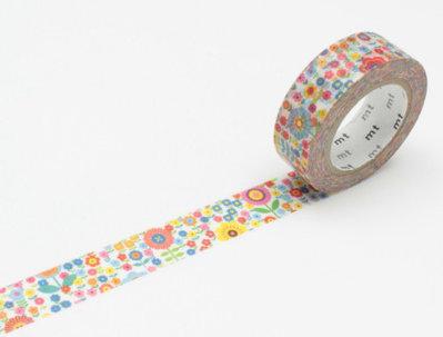 Washi Tape - Mini Flower Garden