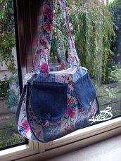 borsetta  con fiori