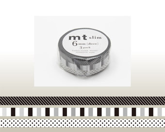 Washi Tape - Slim Deco F