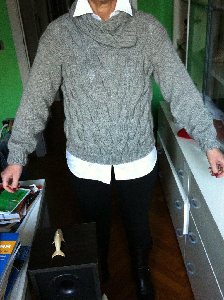 maglione Donna Lavorato a Mano