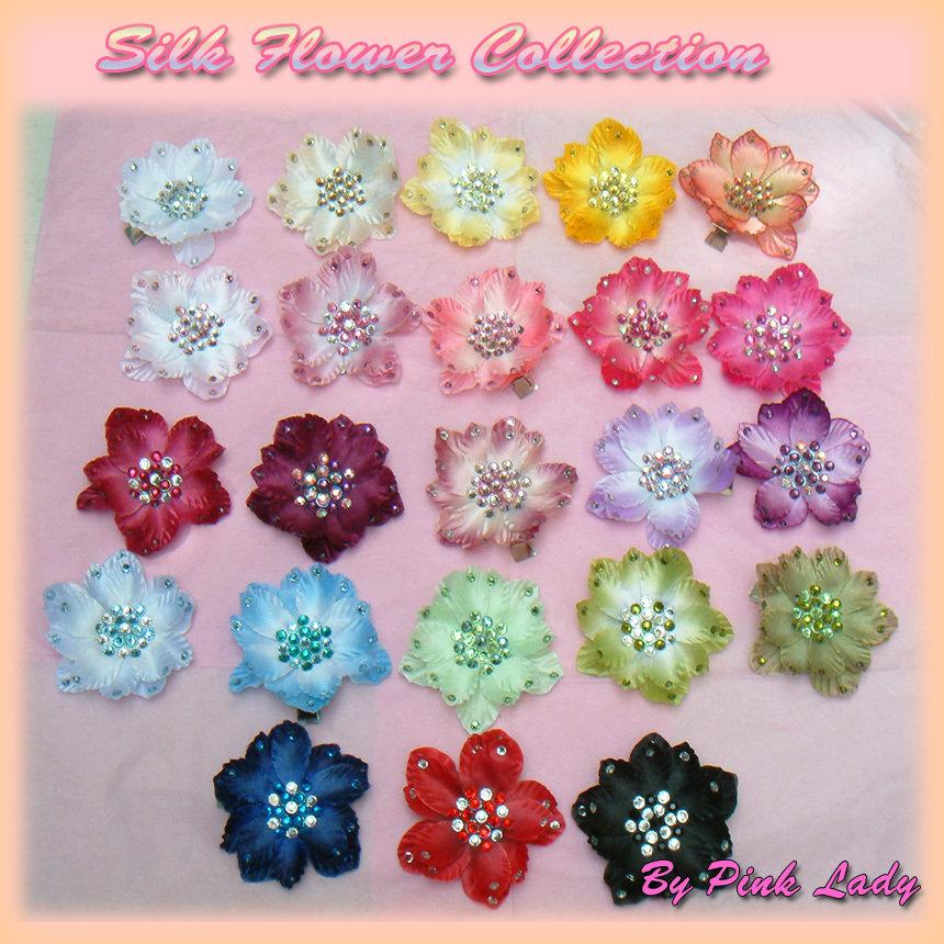 Fiori Fiore per capelli - Silk Flower Hair Clip