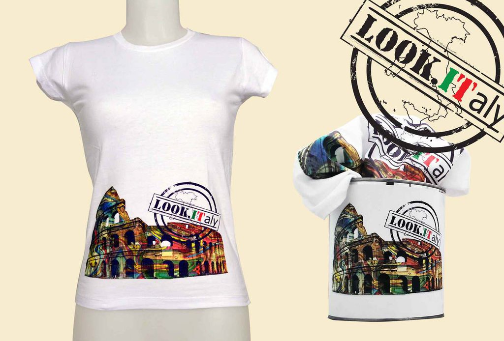 T-SHIRT colosseo Roma