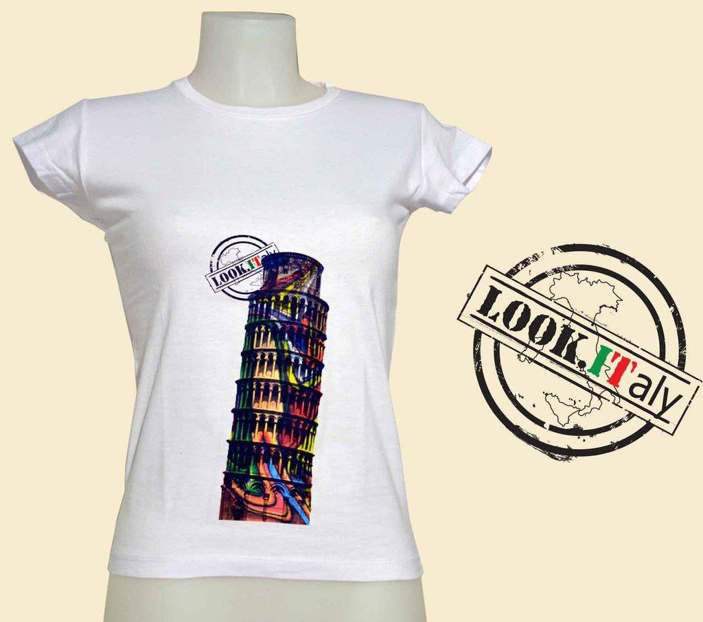 t-shirt torre pisa
