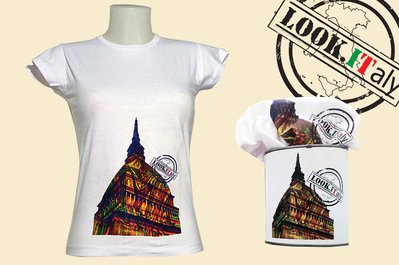 t-shirt Mole Antonelliana Torino