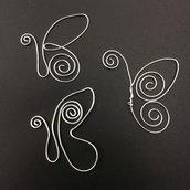 segnalibro farfalla lavorata a mano