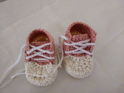 Scarpine da bimba di cotone