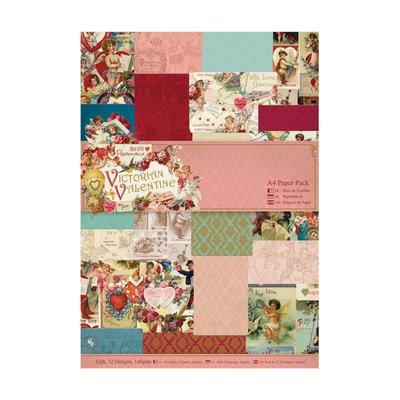 Blocco carta A4 - Victorian Valentine