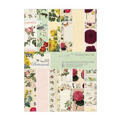 Blocco carta A4 + Die-cut - Botanicals