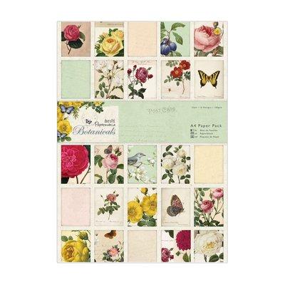 Blocco carta A4 - Botanicals