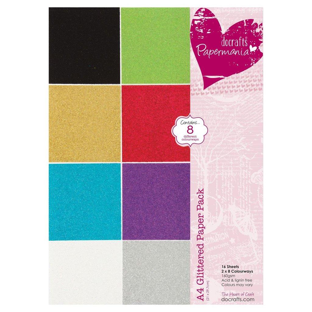 Blocco carta A4 - Glitterata