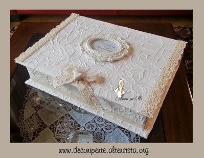 WEDDING BOX - scatola matrimonio