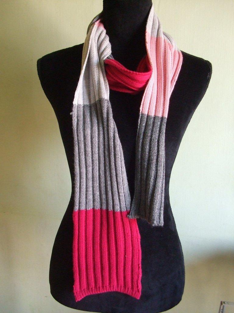 sciarpa donna lana maglia