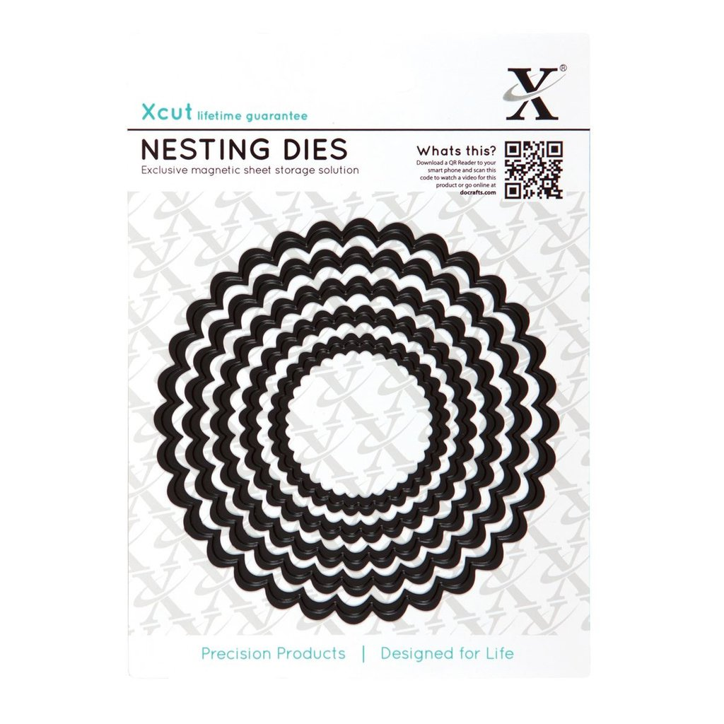 Set fustelle Xcut - Scalloped Circle