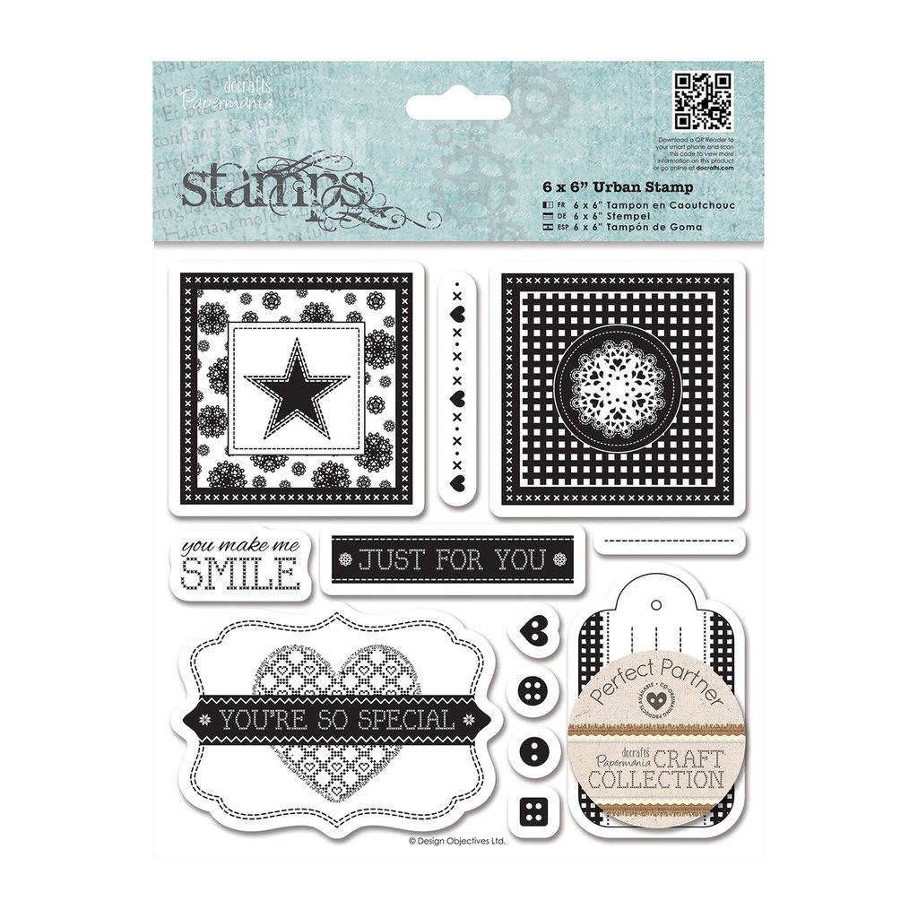 Urban Stamps - Craft Collection Pastel