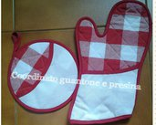 set cucina punto croce