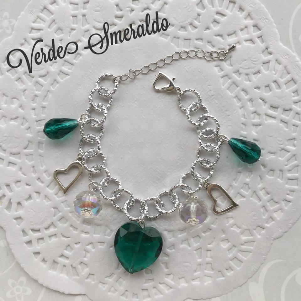 Bracciale Verde Smeraldo