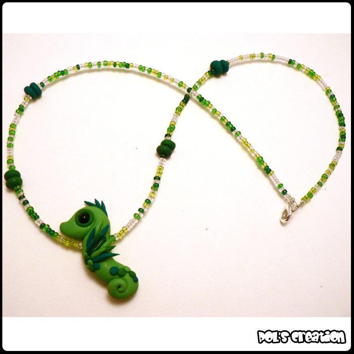 Cavalluccio Verde - Green Seahorse
