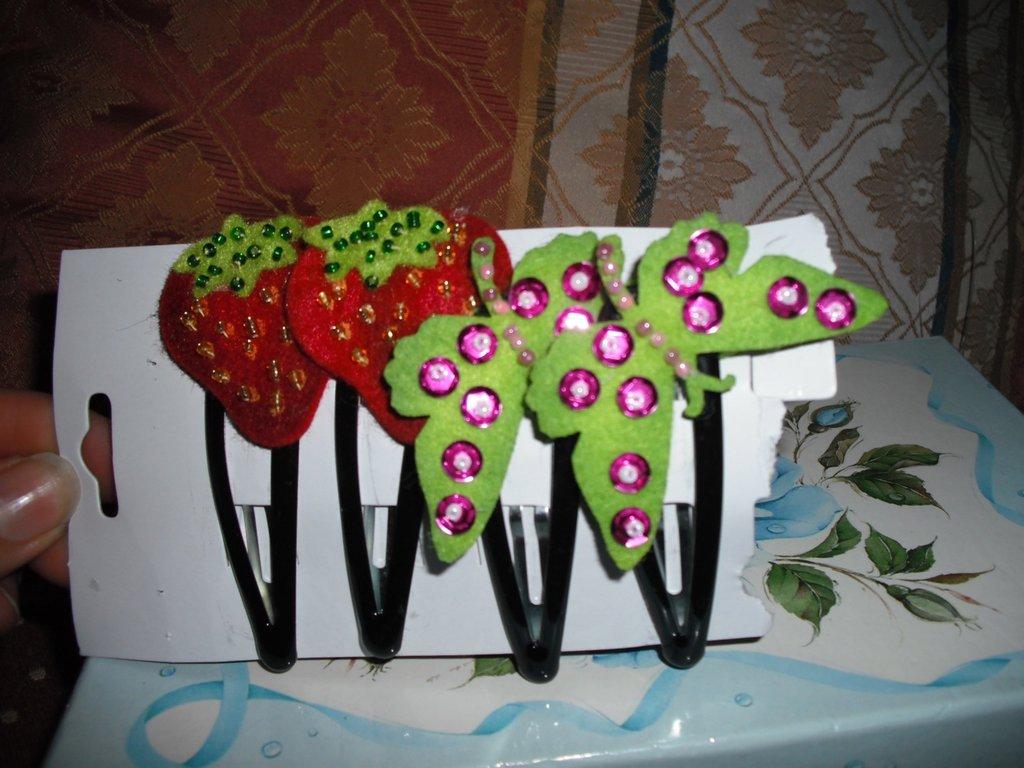 farfalle e fragole