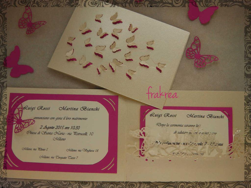 Partecipazione matrimonio, invito, card