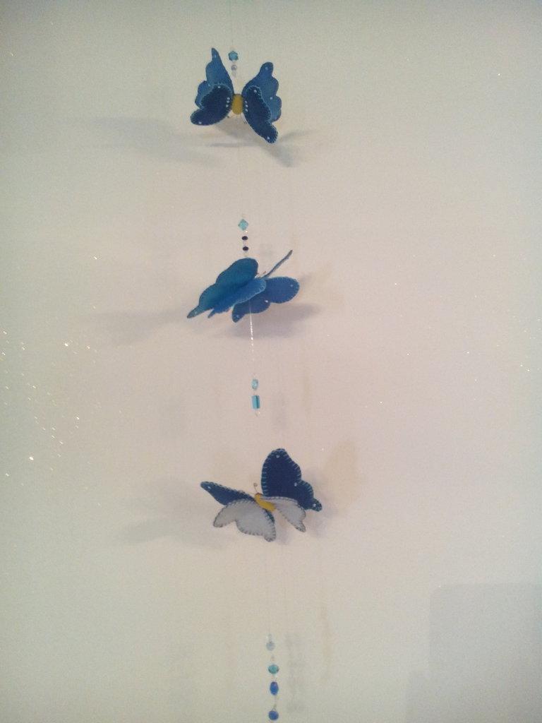 Volo di farfalle in pannolenci