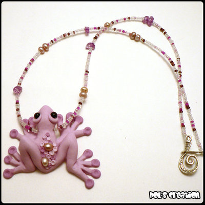 Ranocchia rosa - Pink Frog