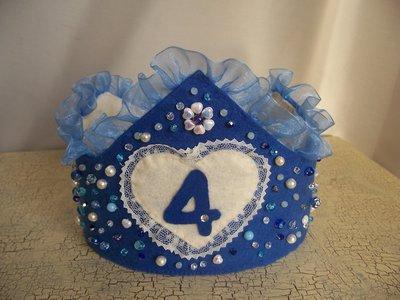 corona incantata per compleanno