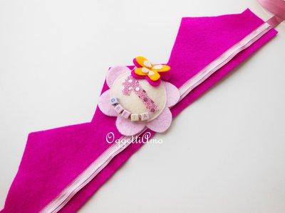 Corona in feltro per la principessa di casa: una coroncina in pannolenci per festeggiare il suo compleanno!