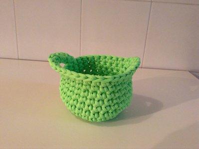 Cestino verdino per Il tuo bambino