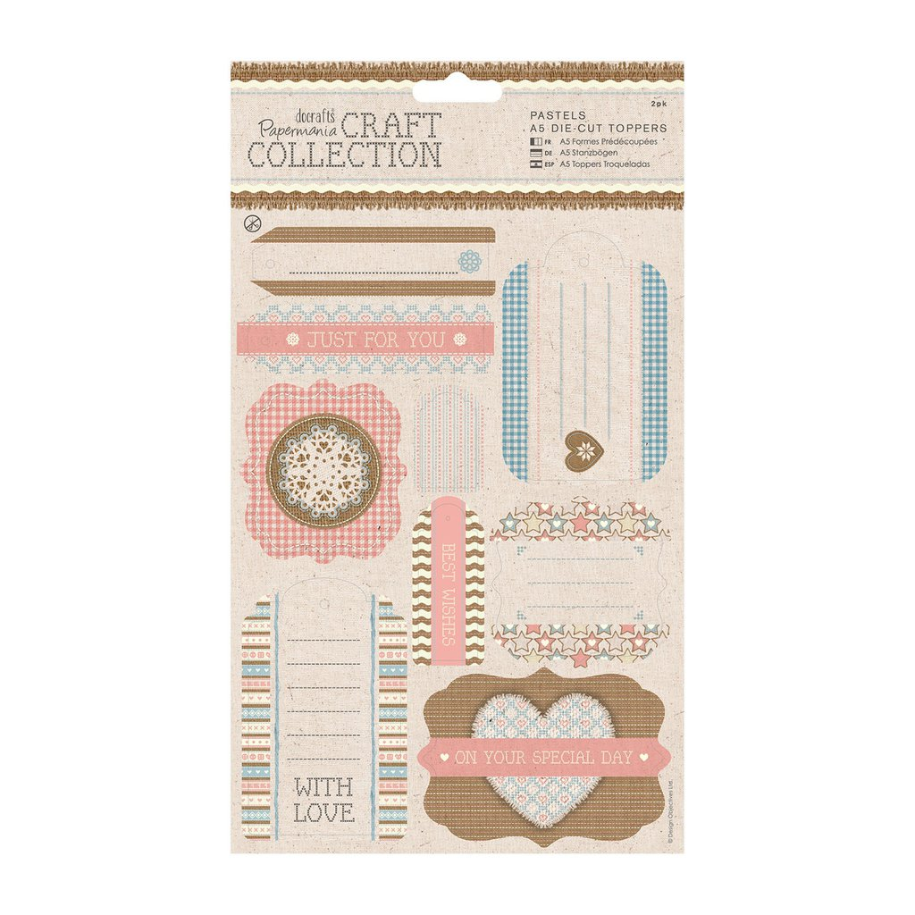 Die-Cuts - Craft Collection Pastels