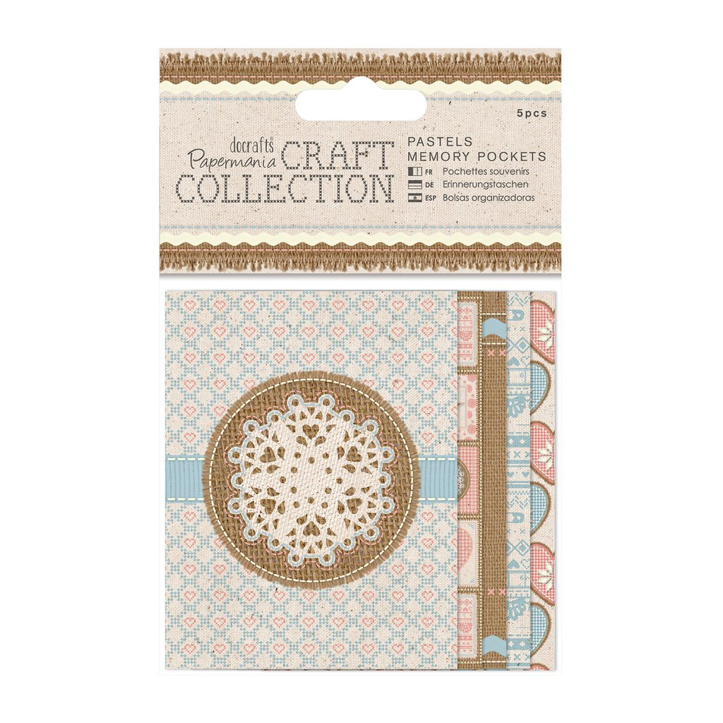 Memory Pocket - Craft Collection Pastels