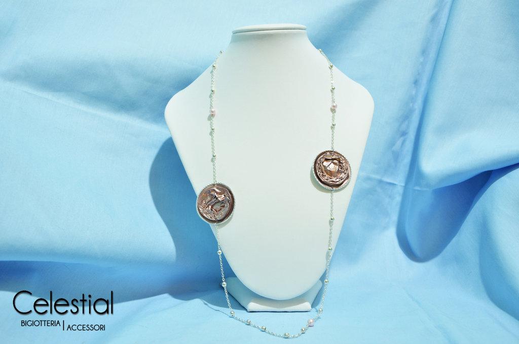 Collana Nespresso e perle